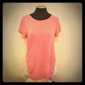 LC Lauren Conrad - Pink Top
